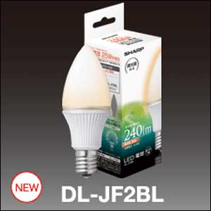 SHARP(�V���[�v)LED�d���@�d���F�@������Ή��@E17����@DL-JF2BL