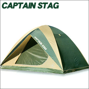 CAPTAIN STAG キャプテンスタッグ プレーナ ドームテント(5~6人用)(キャリーバッグ付)M-3102